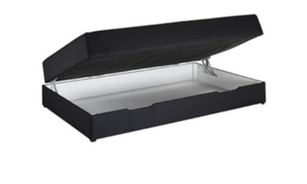 Nordisk Fjer seng med opbevaring 120×200 cm