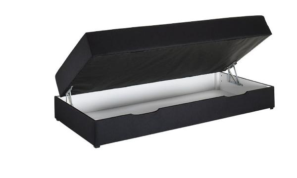 Nordisk Fjer seng med opbevaring 90 cm