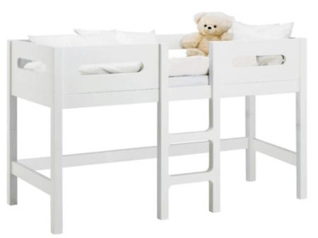 Baby Dan halvhøj seng med forhøjermodul