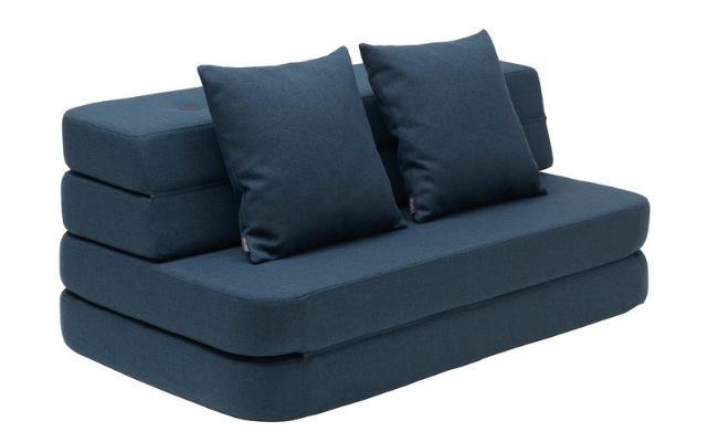 By KlipKlap KK3 Fold Sofa Morkebla XL
