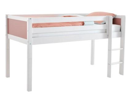 Flexa Basic halvhøj børneseng – Flot og enkel seng i nordic design