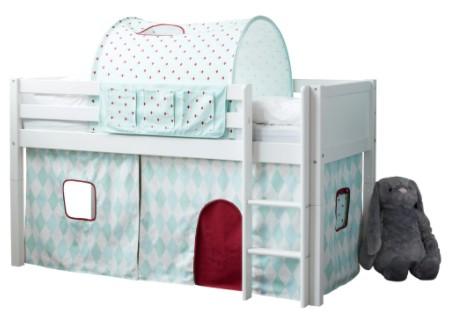 Flexa Basic legeforhæng til halvhøj seng - Cirkus