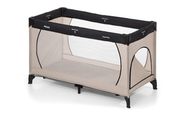 Hauck weekendseng - Dream N Play Plus i beige