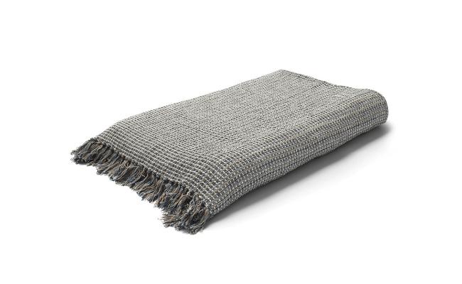 Juna Land sengetaeppe. Multifarvet. 280 x 260 cm