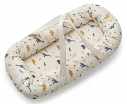 Liewood Gro babynest/lift Dino – flyt nemt dit sovende barn