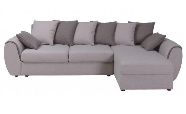 MONZA Chaiselong Sovesofa Højrevendt OUTLET Fredericia – Stor sovesofa med siddepuder i højelastisk skum
